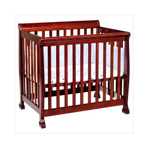 Bundle-77 DaVinci Kalani Mini Convertible Crib in Cherry (Set of 2)