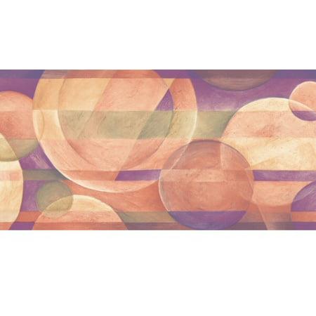 878256 Circles Wallpaper Border OS24593b