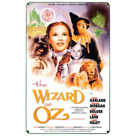 Wizard of Oz, The 11x17 Mini Movie Poster - 189600 (Cat Wizard Of Oz)