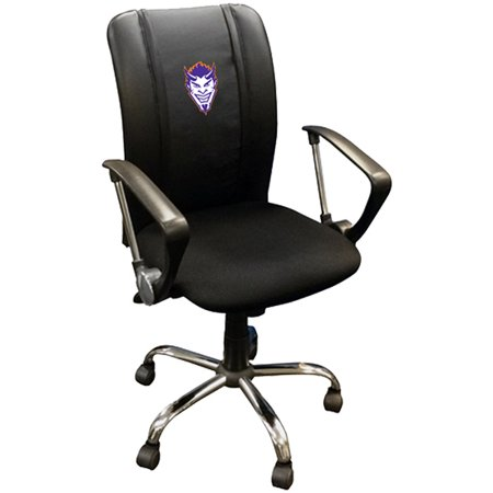 Northwestern State Demons Demon Head Logo Curve Task Chair - No Size