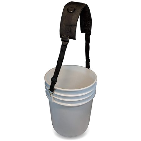 5 Gallon Bucket Shoulder Carrying Strap - Replacement for Wire - Wire Buckle