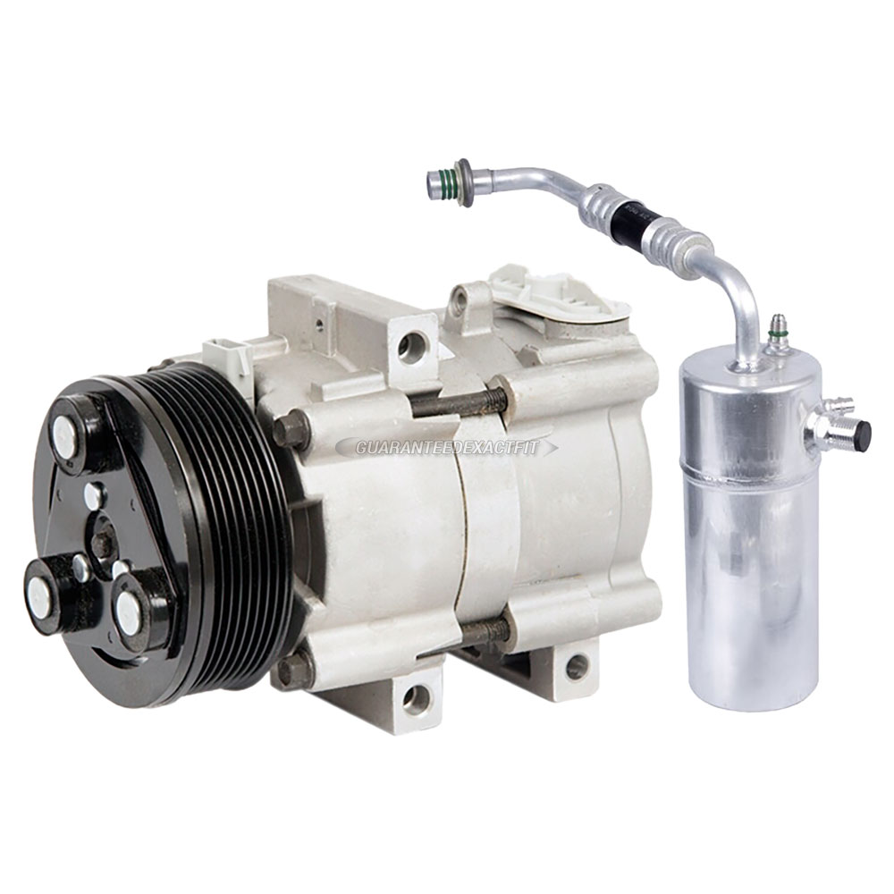 Ac Compressor W A C Drier For Ford Expedition