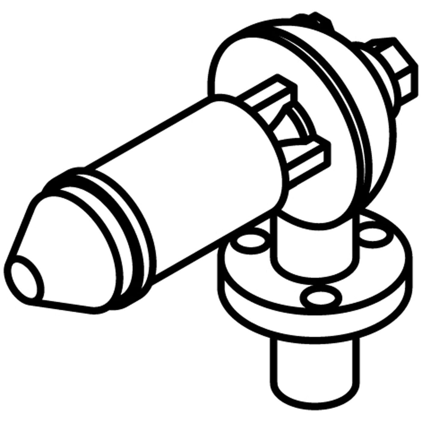 Athearn HO Hancock Air Whistle w o Reflector (3), ATH02011