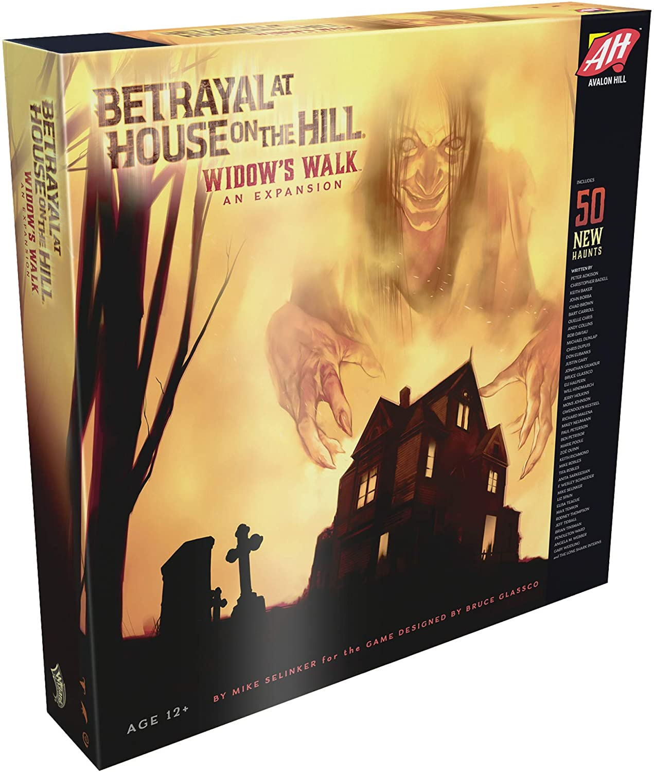 Betrayal At House On The Hill Widow S Walk Board Game Expansion Requires Betrayal House On The Hill By Visit The Avalon Hill Store Walmart Com Walmart Com