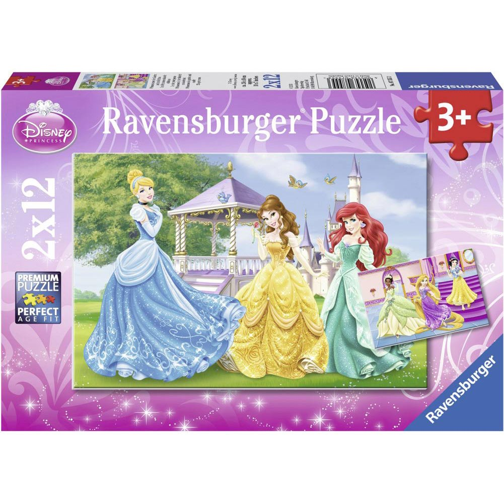 Disney Princess 2 Puzzle Pack