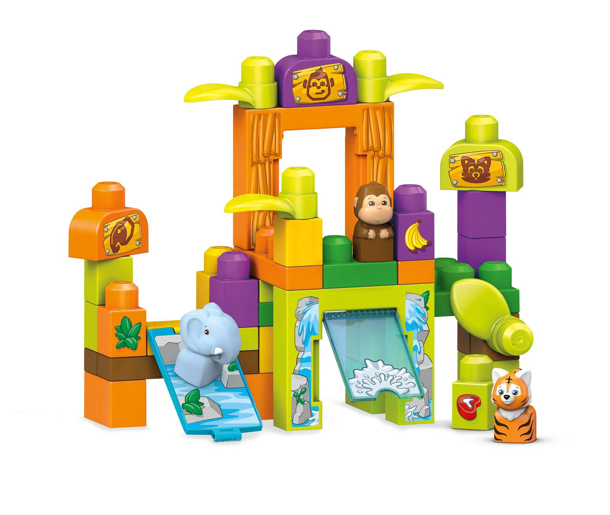 Mega Bloks Storytelling Safari Friends Zoo by Mega Brands, Inc.