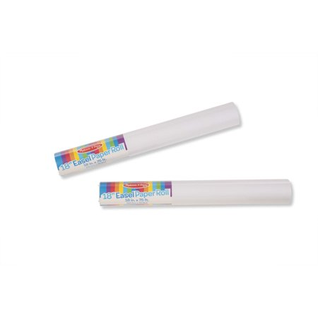 """Melissa & Doug Deluxe Easel Paper Roll Replacement, 18"""" x 75"""