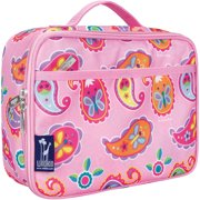 Olive Kids Paisley Pink Insulated Lunch Box for Boys and Girls
