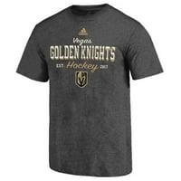 ee3befa69c3 Product Image Adidas Men's Las Vegas Golden Knights NHL Hockey League Tee  Shirt Sender LVSFMM2