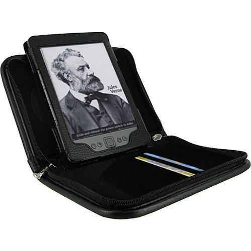 rooCASE Executive Portfolio Leather Case for Amazon Kindle 4