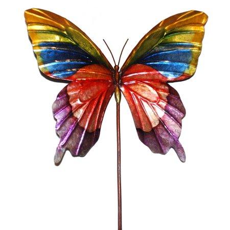 - Garden Stake Butterfly in Rainbow