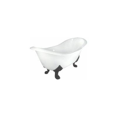 Elizabethan Clics 72 Inch Grand Slipper Cast Iron Clawfoot Tub
