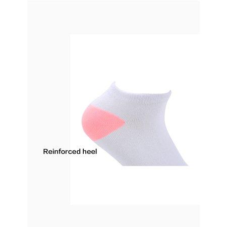 Pack 6 Dame couleur invisible Chaussette Bateau respirant - image 3 de 5