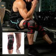 CALIDAKA Knee Pad Collision Nylon Knitting Gym Fitness Brace Outdoor Sports Support