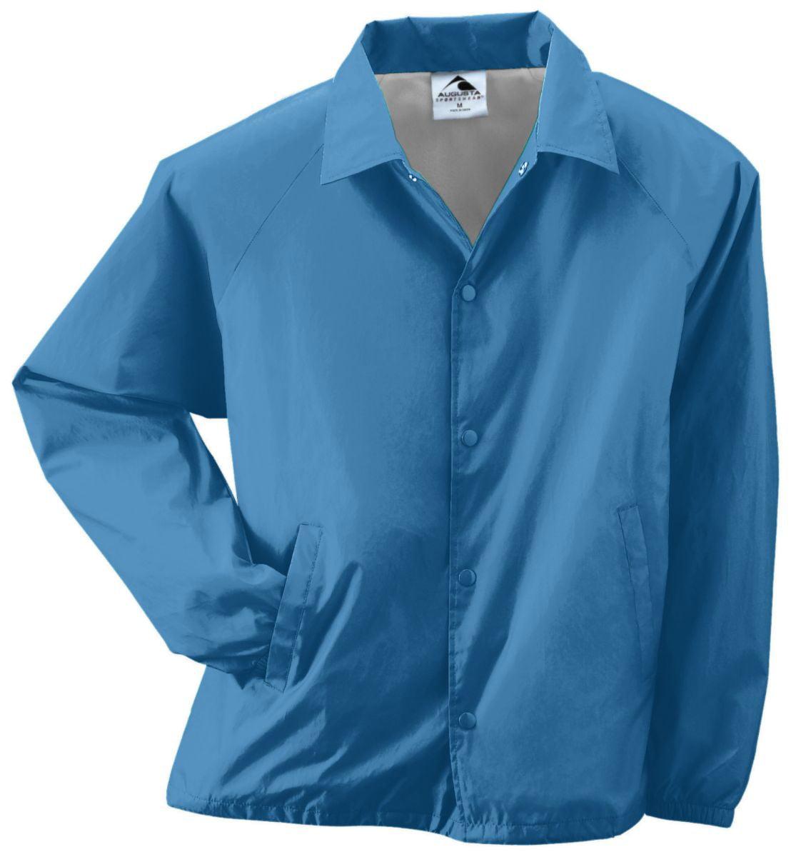 NYLON COACH'S JACKET/LINED COL BLUE XL