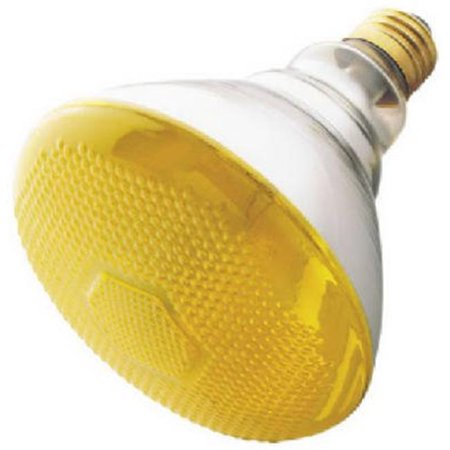 04409 100W, Yellow Bug Flood Specialty Light Bulb