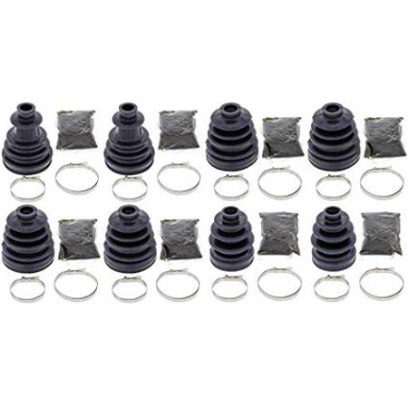 Complete Front & Rear Inner & Outer CV Boot Repair Kit for