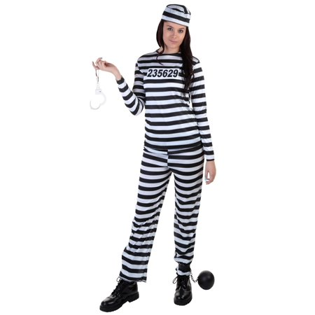 Plus Size Womens Prisoner Costume - Gandalf The Grey Costume