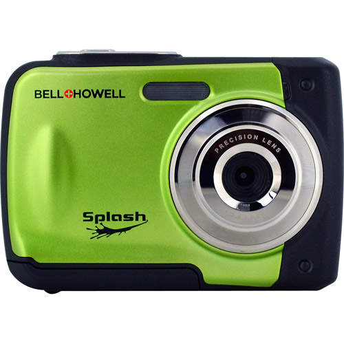 BELL+HOWELL Green WP10 12.0 Megapixel Waterproof Digital Camera