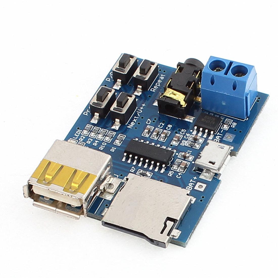 MP3 Free Lossless Audio Decode Module Board with Amplifier USB Female - image 1 de 1