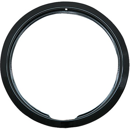 Electric Range Trim Ring - Range Kleen 1 Large Trim Ring, Style E fits Hinged Electric Ranges Amana/Frigidaire/Maytag/Whirlpool, Black Porcelain