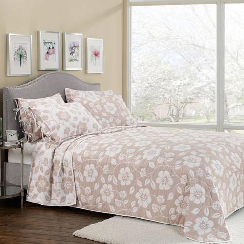 Belle Maison Flora Reversible Bedspread