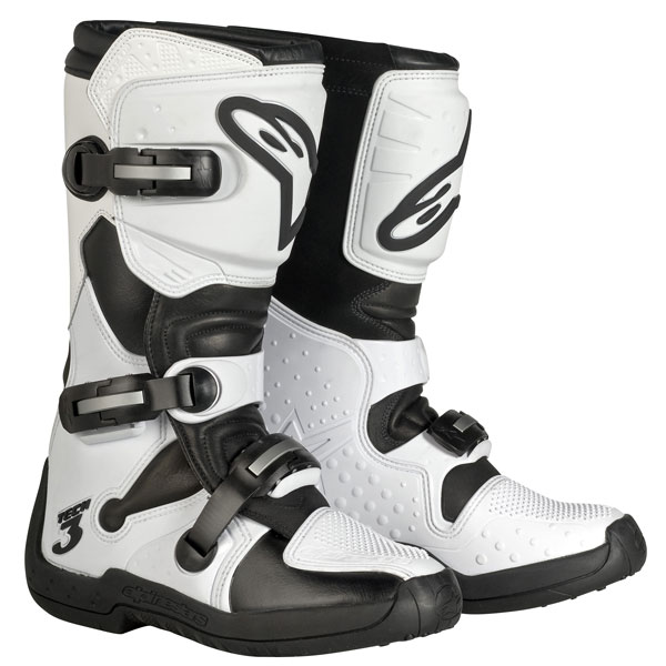 Alpinestars Stella Tech 3 Womens MX Boots White/Black