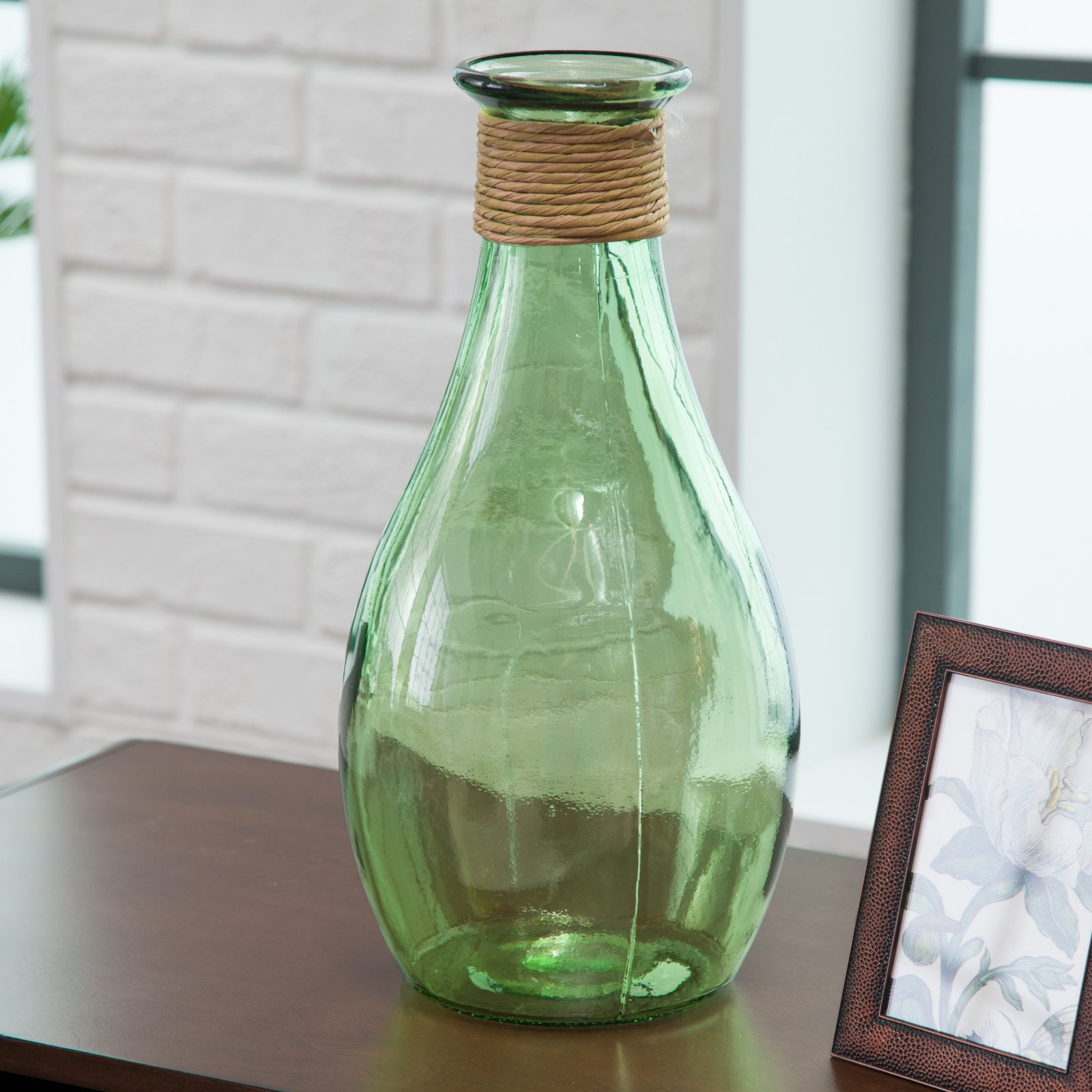 Duval Cove Recycled Glass Vase