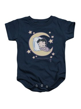 3cefb1c631c Product Image Betty Boop Cartoon Sleepy Time Baby Infant Romper Snapsuit