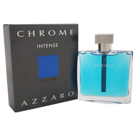 Chrome Intense by Loris Azzaro for Men - 3.4 oz EDT (Chrome Spray)