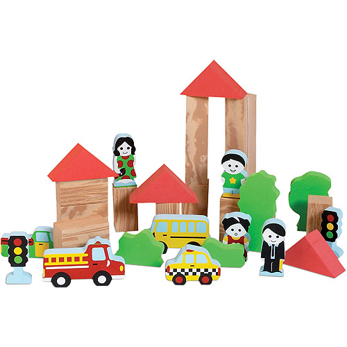 Edushape My Soft World City, 29-Piece
