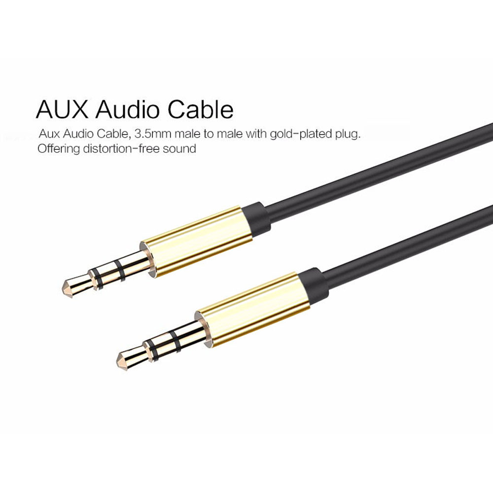 10ft 3 5mm Male To Male Gold Plated Auxiliary Audio Stereo
