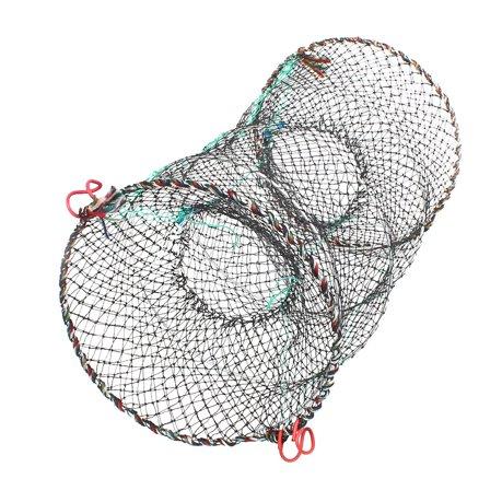 17 7 x 3 5 nylon metal portable fishing landing net fish for Fishing nets walmart