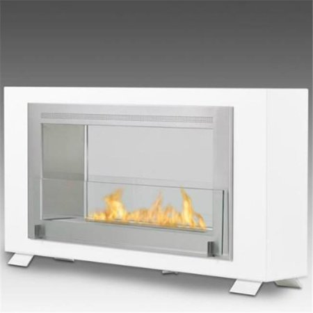 Eco Bb - Eco-feu WU-00172-BB Brooklyn Wall Mounted & Built - In Ethanol Fireplace
