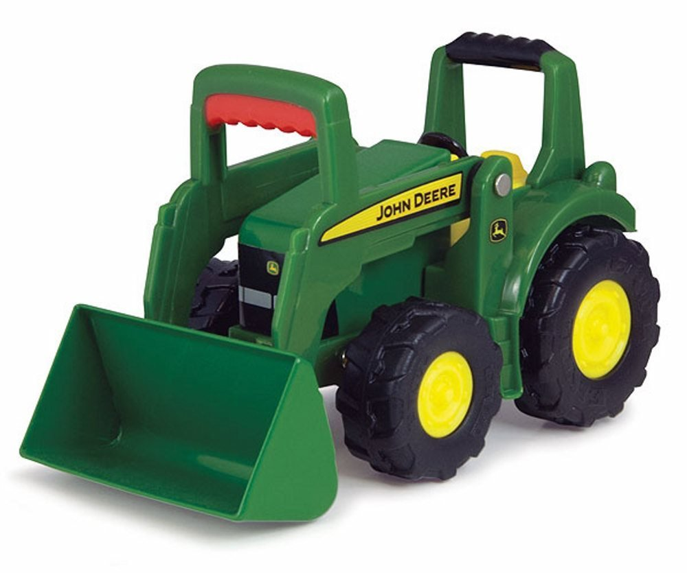 "John Deere Big Scoop Tractor, Green Collect 'n Play 4"" Toy Farm Vehicle, Manufactured... by"