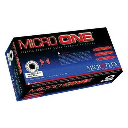 - Microflex MO-150XS Micro One Light Powder Latex Gloves - X-Small