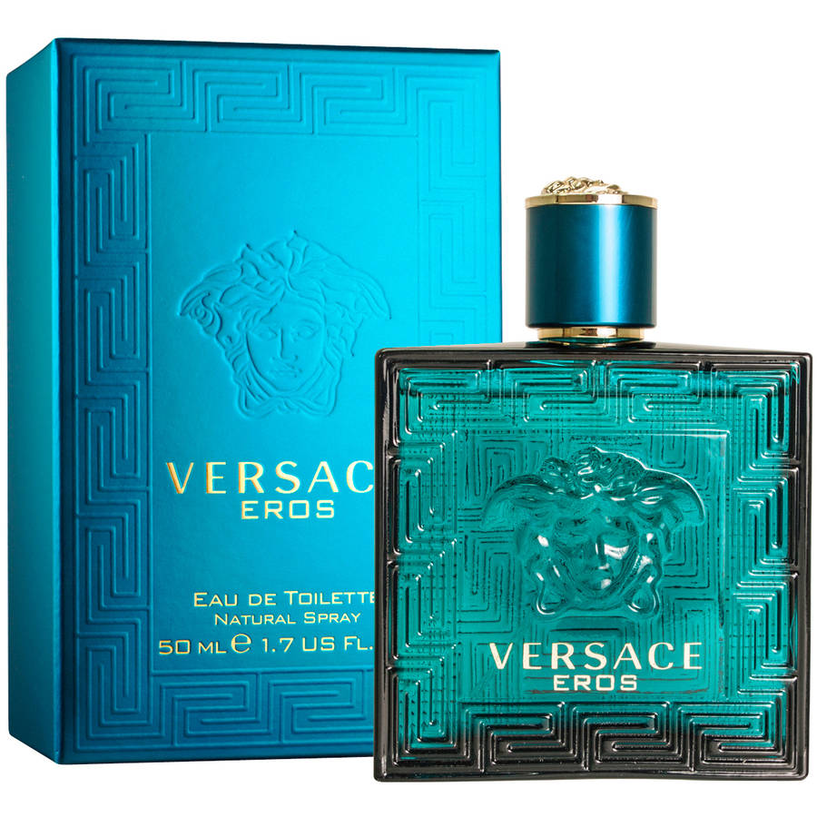 Versace Eros for Men Eau de Toilette Natural Spray, 1.7 fl oz