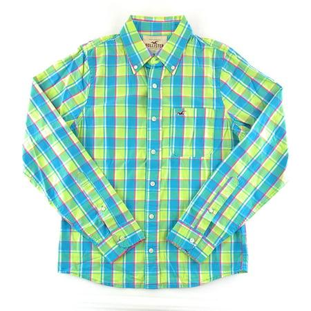 Hollister Mens Long Sleeve Shirt (Hollister Clothes)