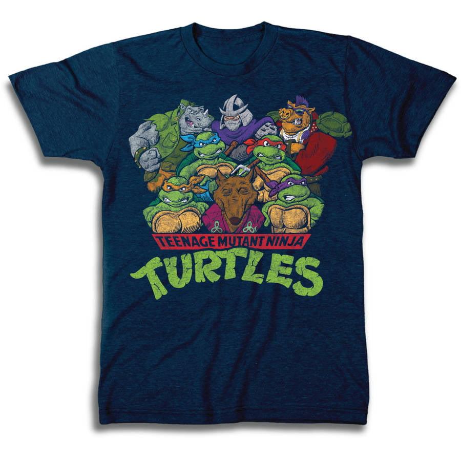 Ninja Turtles Group Men's Short Sleeve T-Shirt