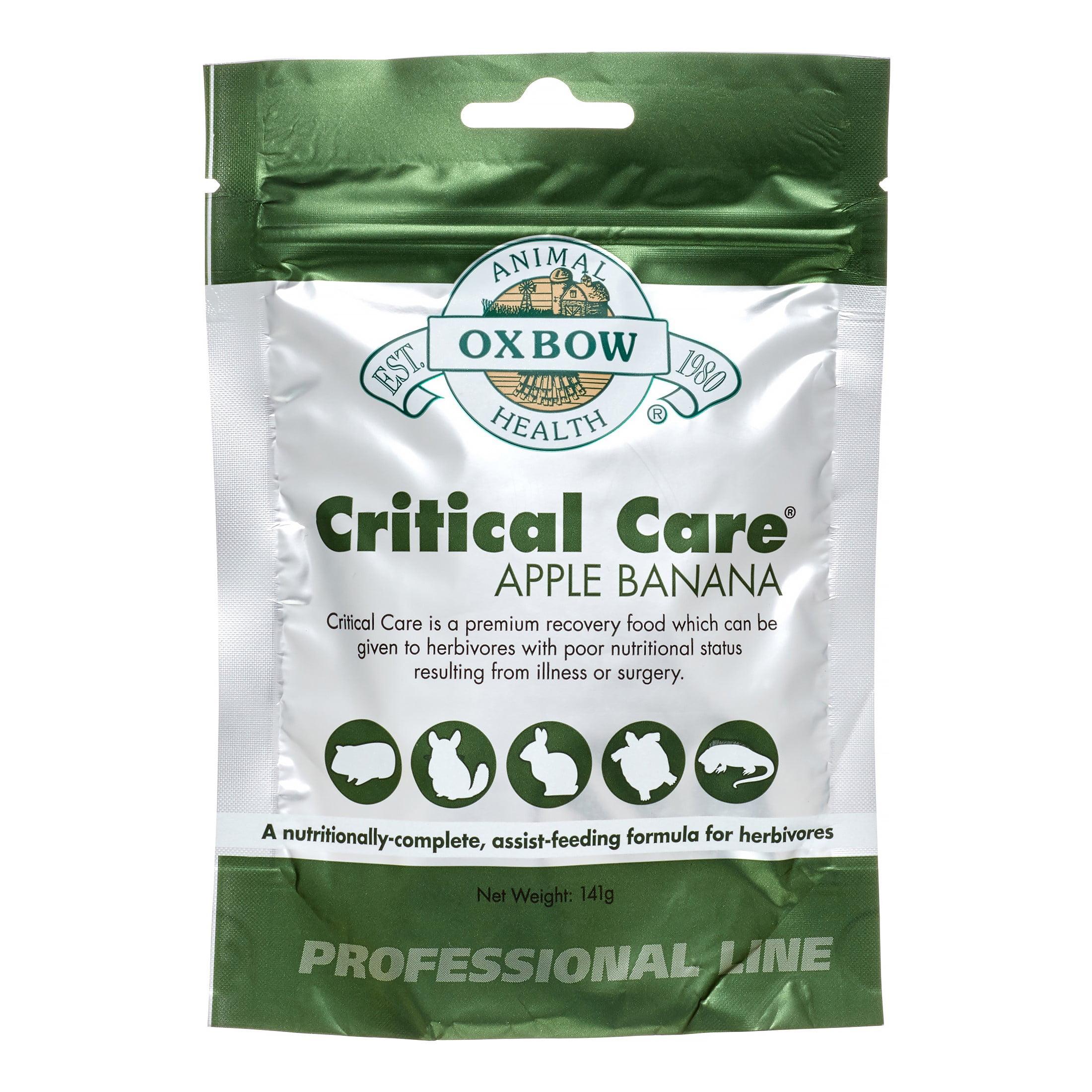 Oxbow Critical Care Small Animal Food, Apple Banana, 4.9 Oz