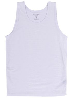 48f850f66493bc Product Image Alligator Tank Top White Muscle Shirt Faux Leather Polyester  Sleeveless S-2XL