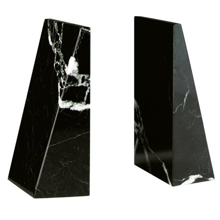 Black Zebra Professional Marble (Marble Medical Bookends)