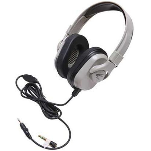 Ergoguys Califone Headphones with In-Line Volume for PC/MAC - Wired