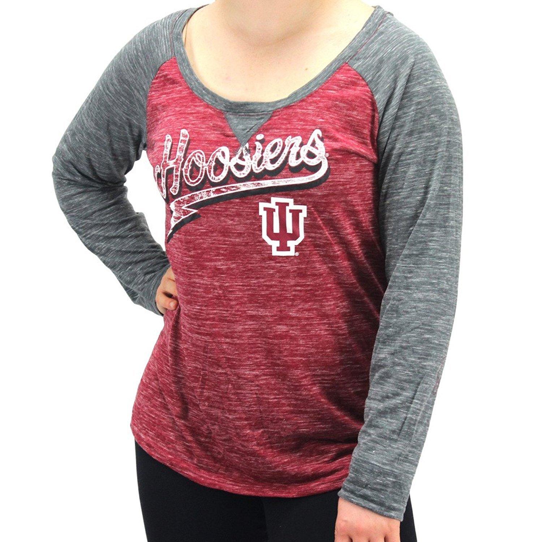 Creative Apparel Women' s Indiana Hoosiers Long Sleeve Shirt
