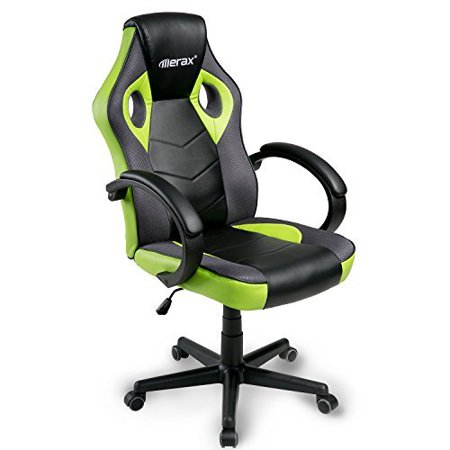 Marvelous Merax Gaming High Back Chair Computer Swivel Chair Racing Style Chair Home Office Chair Creativecarmelina Interior Chair Design Creativecarmelinacom