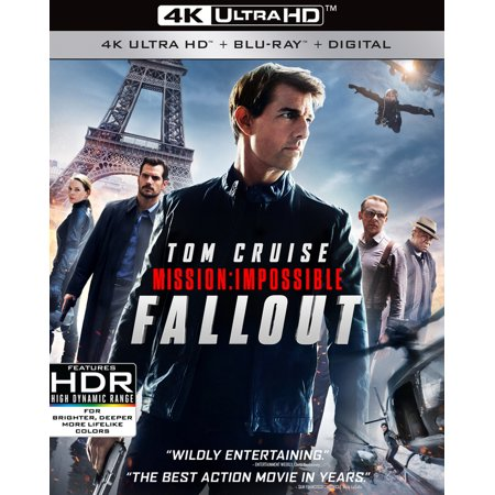 Zombie Fallout Movie (Mission: Impossible - Fallout (4K Ultra HD + Blu-ray + Digital)