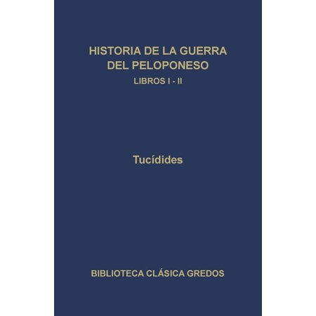 Historia de la guerra del Peloponeso. Libros I-II - eBook - La Historia De Halloween