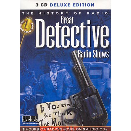 3 Audio CDs of Classic DETECTIVE RADIO SHOWS (Listen in your car) Sam Spade+Boston Blackie+Ellery