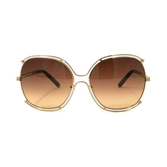 7d47f7aad9 CHLOE - Sunglasses CHLOE CE 129 S 784 ROSE GOLD TRANSPARENT BROWN ...