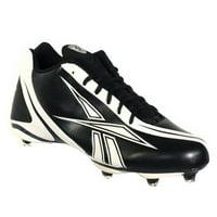 Product Image REEBOK NFL BURNER SPEED 5 8 SD3 MENS FOOTBALL CLEATS BLACK  WHITE 15 22c4af548